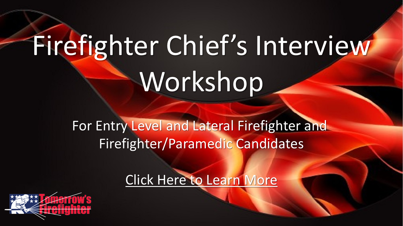 workshop that will help you kill it on your chiefs interview plus you get my situational questions workshop as an added free bonus 19700 value - Being A Firefighter Why Do You Want To Be A Firefighter Interview Question